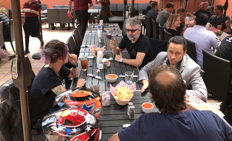 starchamber.tv lunch bunch 5 - with music business pros: Maor Appelbaum, Paul Wolff, Gary Myerberg-Lauter, J.J. Blair and Gino Bambino